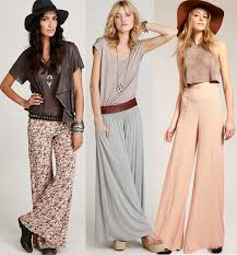 newest fashion styles for woman in their 60s 1960s fashion trends for both women and men images palazzo pants