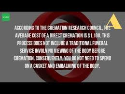 average cost of cremation how much does it cost to be cremated