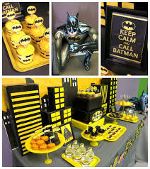 batman party ideas tv shows characters boy kara s party ideas