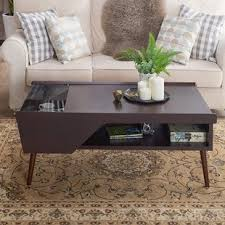 Living Room Table With Storage Mid Century Modern Coffee Tables You Ll Wayfair