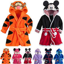robes de chambre enfants enfants filles garçons nuit peignoir pyjama à capuche robe de
