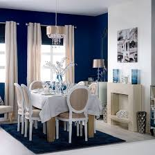 Blue And White Dining Room Facemasrecom - Blue and white dining room