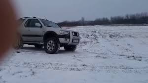 opel winter opel frontera winter off road 2 2 dti youtube