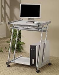 Movable Computer Desk Small Mobile Computer Desk