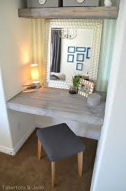 How To Build A Wall Mounted Desk Best 25 Floating Desk Ideas On Pinterest Bureaus Floating Wall