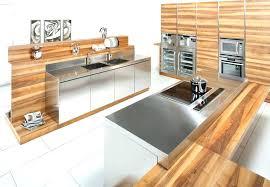 meuble inox cuisine pro plan de travail inox cuisine professionnel plan de travail inox