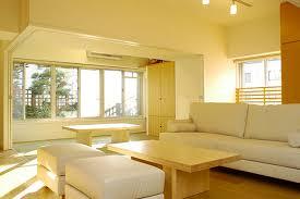teen bedroom interior with three tone color scheme design combined