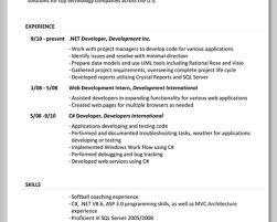 Asp Net Resume For Experienced Resume Resume Sample College Managers Resume Google Sample Sushi