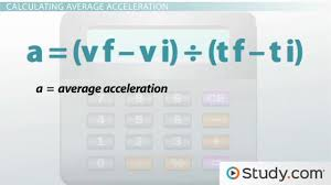 what is acceleration definition and formula video u0026 lesson