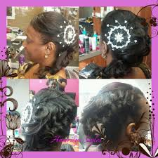 wedding updo and sew in weave yelp