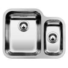 undermount stainless steel kitchen sink blanco ypsilon 550 u undermount stainless steel kitchen sink