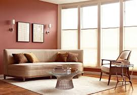 Fancy Interior Of Feng Shui Living Room With Comfortable White - Best feng shui color for living room