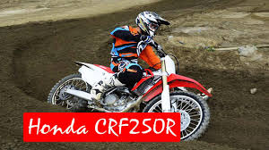 2016 honda crf250r review youtube