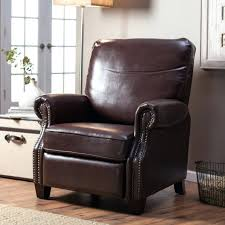 craftsman style leather recliner label fascinating mission style