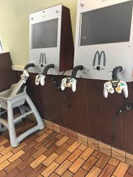 my local mcdonalds still has gamecube controllers gaming