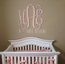 home decor letters 30 inch wooden monogram painted light pink wooden letters