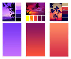 best shades of orange the secret of great gradient u2013 ux planet