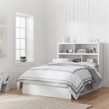 bed headboard store it 6 cubby bed storage headboard set pbteen