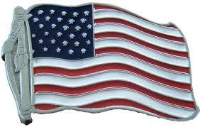 United States American Flag Old Glory American Flag Belt Buckle