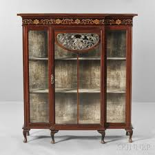 China Cabinet Modern Marvelous Antique China Cabinet Value 45 For Your Modern Home With
