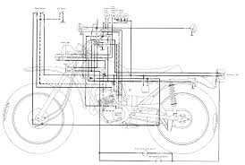 yamaha dt250 enduro motorcycle wiring schematics with dt 250