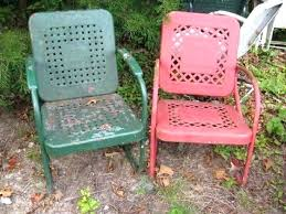 Antique Metal Patio Chairs Retro Lawn Chairs Wyskytech
