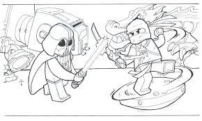 lego ninjago coloring pages jay batman movie lord business star