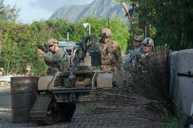future military vehicles army tests war robots in the pacific popular science