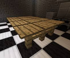 kitchen table wicker style minecraft furniture