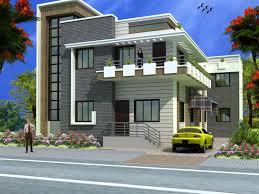 Modern duplex 2 floor house design on this link