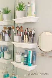Bathroom Shelf With Hooks Best 20 Bathroom Wall Shelves Ideas On Pinterest Bathroom Wall