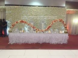 wedding backdrop manufacturers cheap silk white flower wall wedding backdrop for sale