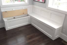 Wood Bench Seat Plans Bench Built In Kitchen Bench Seating With Storage Bay Window