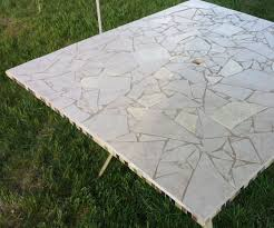 Concrete Patio Tables by Stamped Concrete Patio On Patio Furniture With Awesome Patio Table
