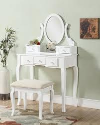 Vanity Mirror And Bench Set Furniture Makeup Vanity Set Walmart Walmart Makeup Table