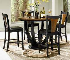 best high top dining table and chairs with height dining table set