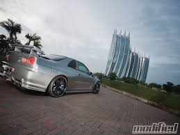nissan skyline wheel size 2002 nissan skyline gt r v spec ii godzilla spotted modified