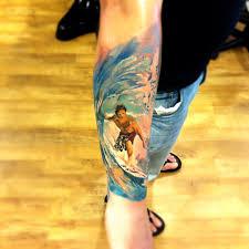 surfer tattoo artist radu rusu art u0026 soul tattoo plumouth uk