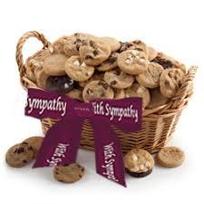 sympathy gift baskets free shipping sympathy cookie basket free shipping usa only gourmet gift