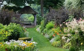 a garden where old england meets new england new hampshire home