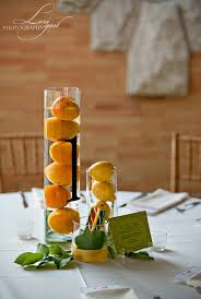 water centerpieces centerpieces lemon water the celebration society