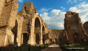 baths of caracalla floor plan instead of the colosseum u2026go here romecabs transfers and tours in