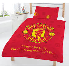 Bed Quilts Online India Manchester Football Club Mufc Red Junior Cot Bed Duvet Quilt Cover