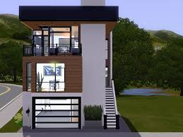 glamorous modern house design for small lot 12 plan maximizes a
