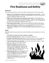 fire safety u0026 prevention printables u0026 activities k 12