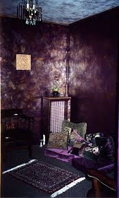 amazing purple metallic walls how can i achieve this look i
