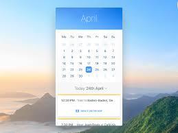 calendar ui app sketch free psds u0026 sketch app resources for