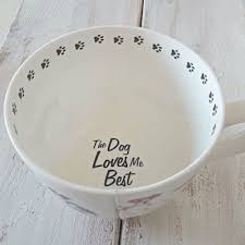 best large coffee mugs ciao new coffee tea cup dog loves me best bone china by portobello