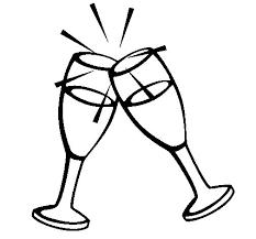 disegni bicchieri disegno di chagne da colorare acolore