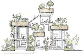 Floor Plan Modern House Binh House Modern Residential Architecture Styles Of House For Trees